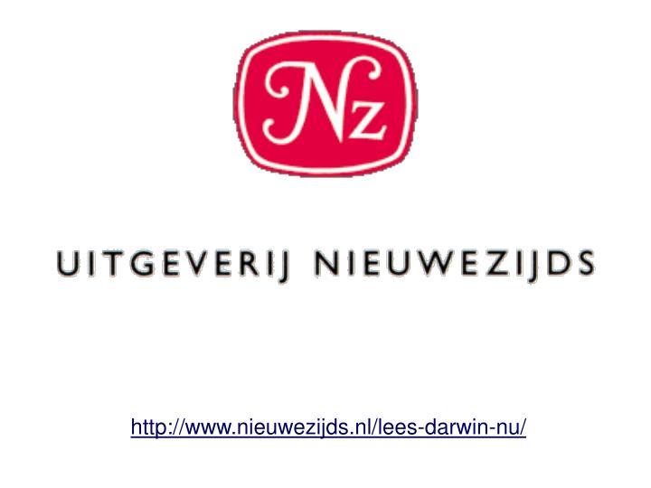 http://www.nieuwezijds.nl/lees-darwin-nu/
