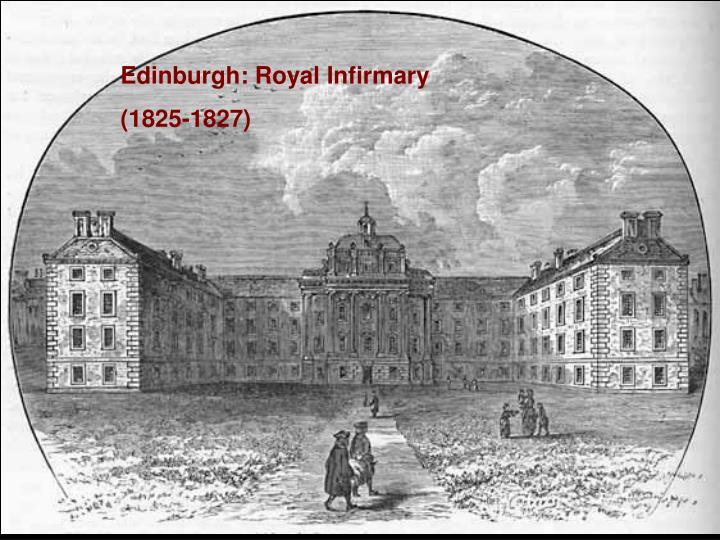 Edinburgh: Royal Infirmary