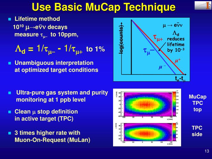 Use Basic MuCap Technique
