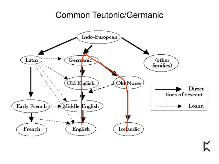 Common Teutonic/Germanic