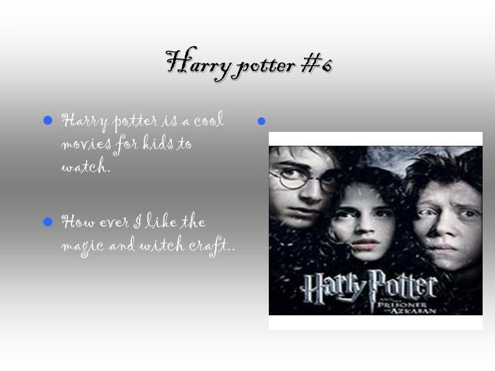 Harry potter #6