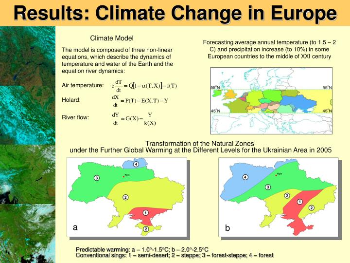Results: Climate Change in Europe