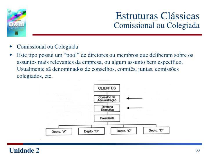 Estruturas Clássicas