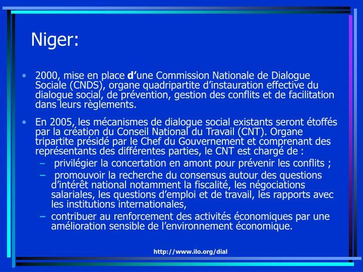 Niger: