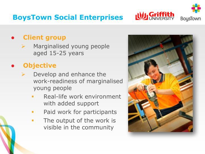 BoysTown Social Enterprises