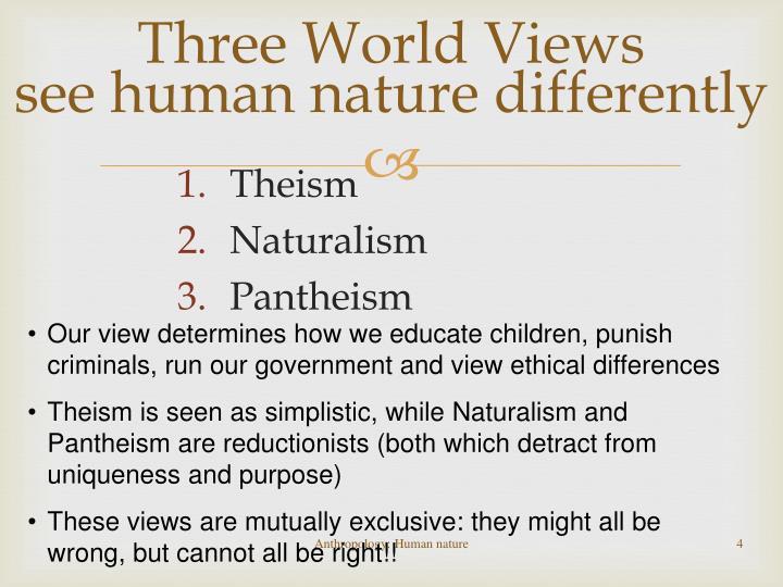 Three World Views