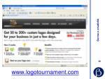 www logotournament com