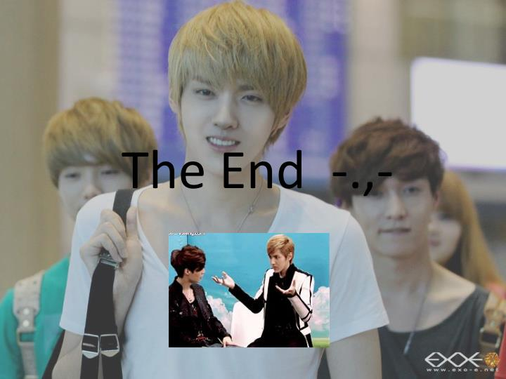 The End  -.,-