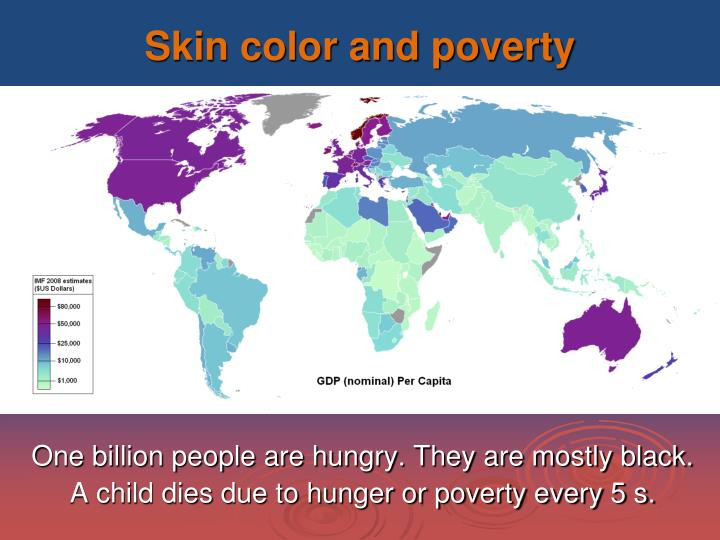 Skin color and poverty