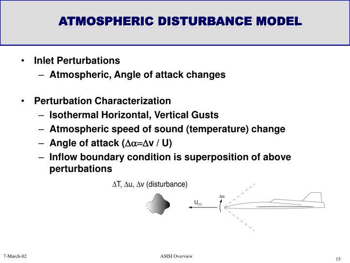 ATMOSPHERIC DISTURBANCE MODEL