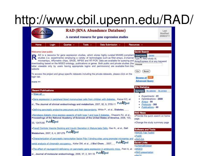 http://www.cbil.upenn.edu/RAD/