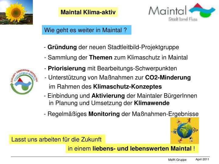 Maintal Klima-aktiv