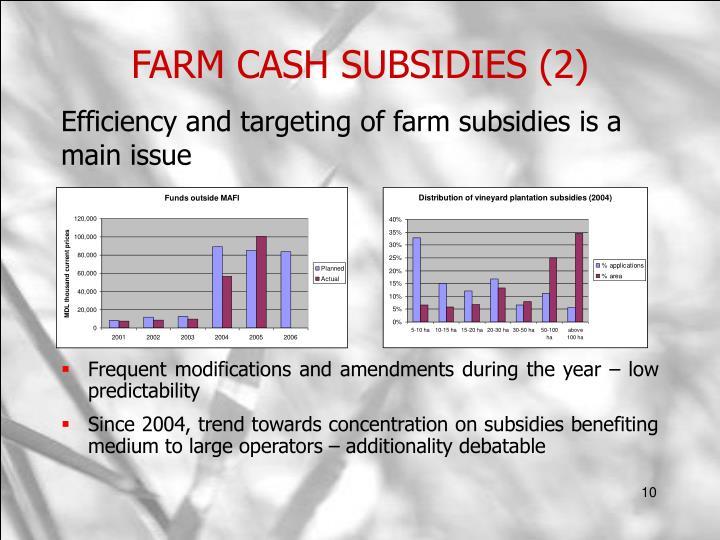 FARM CASH SUBSIDIES (2)