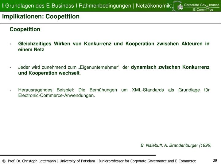 Implikationen: Coopetition
