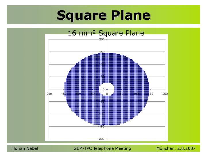 Square Plane