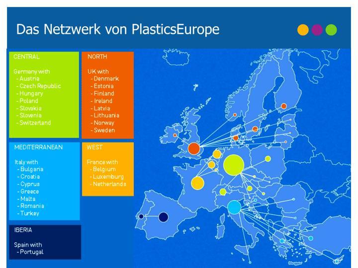 Das Netzwerk von PlasticsEurope