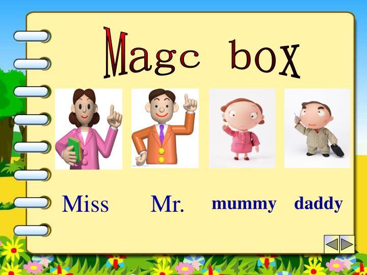 Magc box