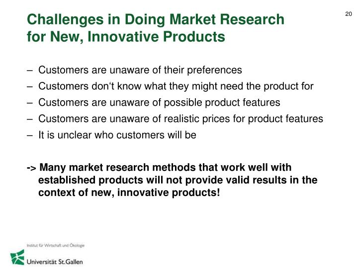 Challenges in Doing Market Research