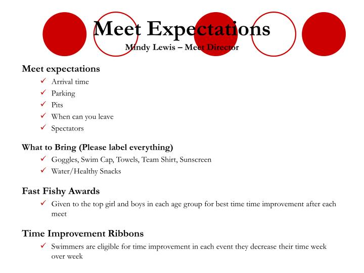 Meet Expectations