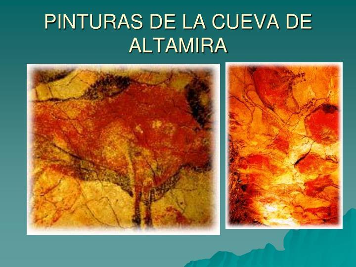 PINTURAS DE LA CUEVA DE ALTAMIRA