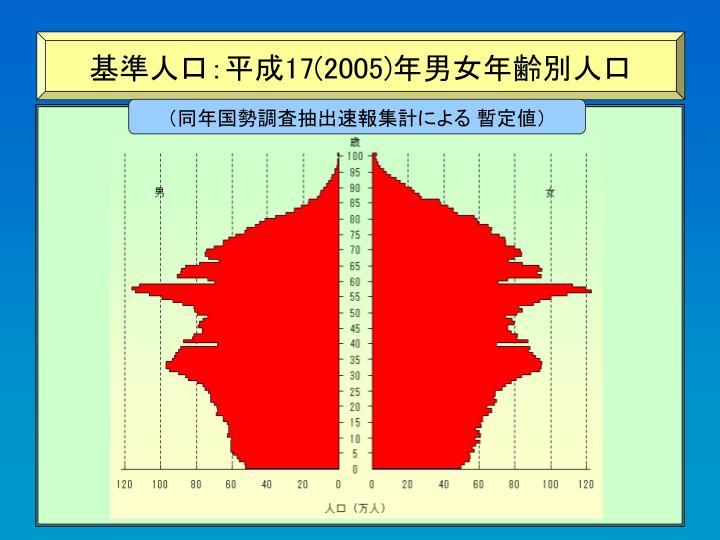 基準人口:平成