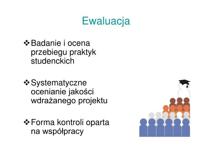 Badanie i ocena przebiegu praktyk studenckich