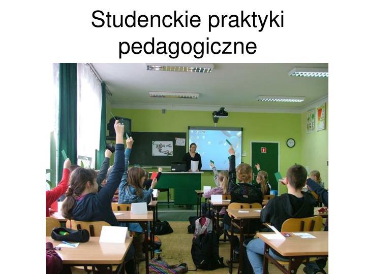 Studenckie praktyki pedagogiczne