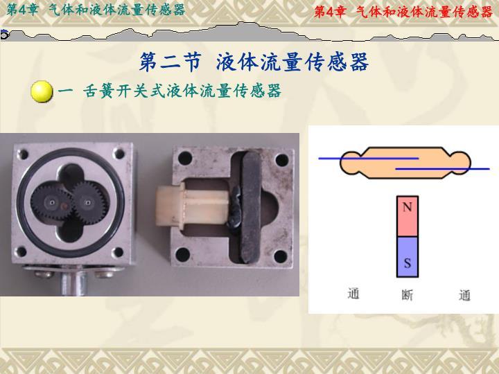 第二节 液体流量传感器