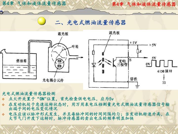二、光电式燃油流量传感器