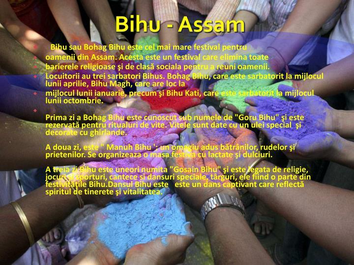 Bihu - Assam
