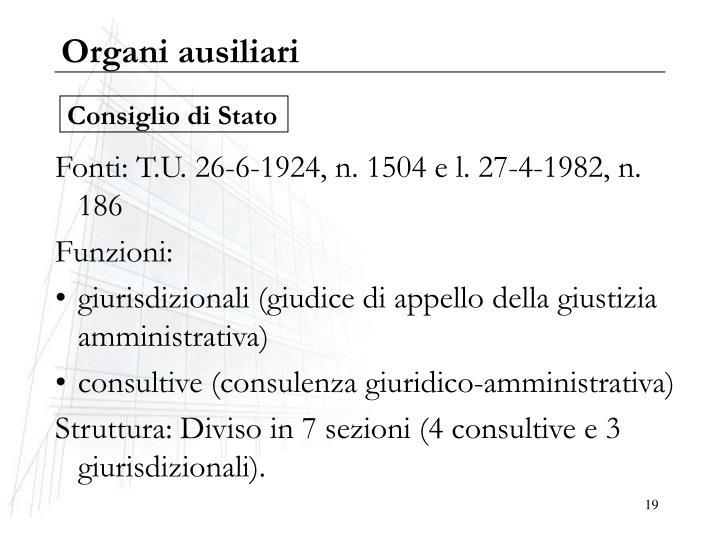 Organi ausiliari