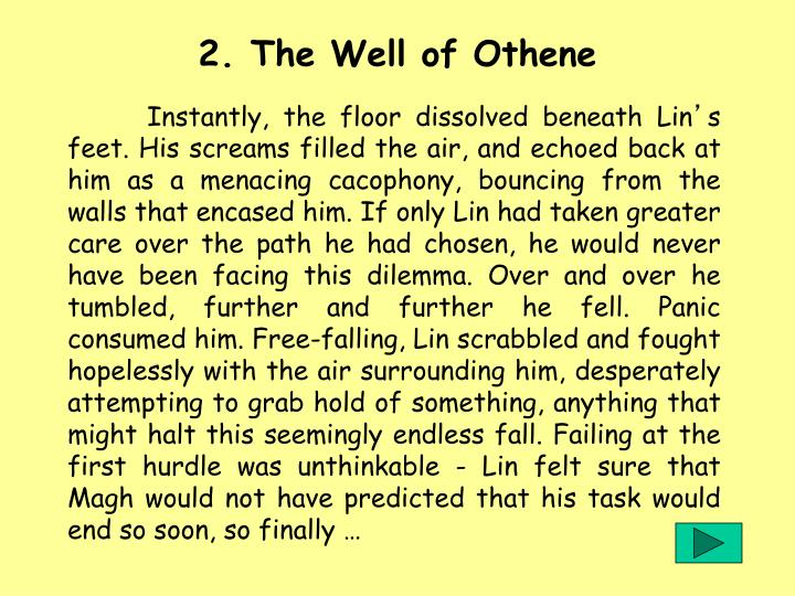 2. The Well of Othene