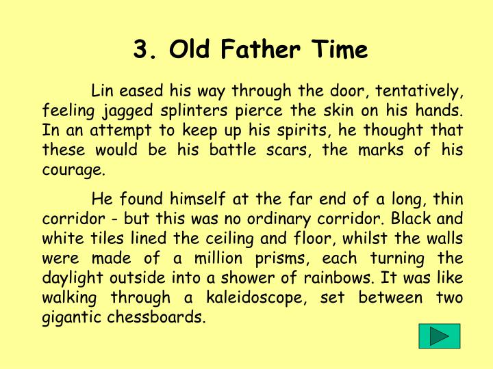 3. Old Father Time