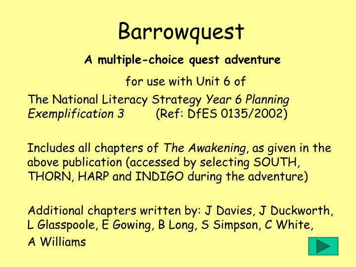 Barrowquest