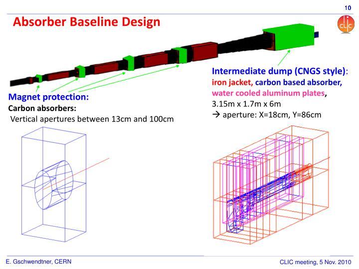 Absorber Baseline Design