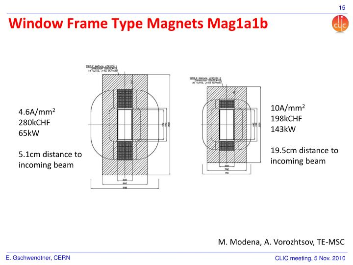 Window Frame Type Magnets Mag1a1b
