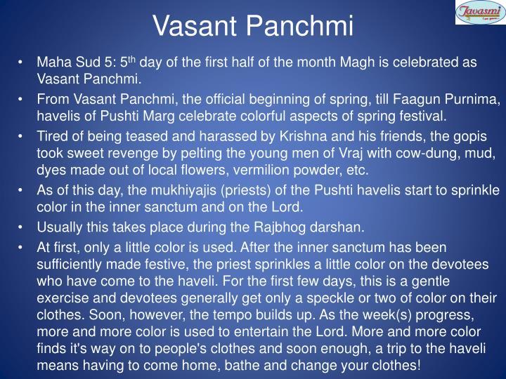 Vasant Panchmi