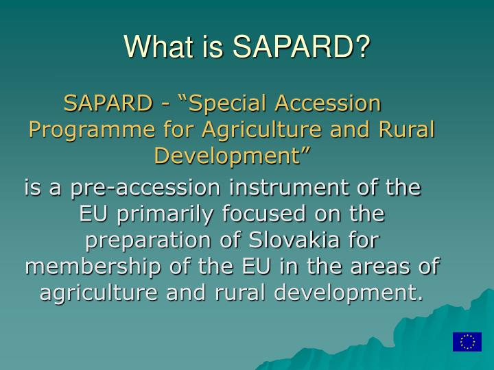 What is sapard