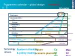 programme calendar global design example