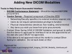 adding new dicom modalities