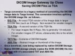 dicom image gateway up close saving dicom files as tga