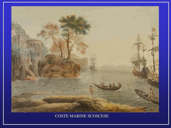 COSTE MARINE SCOSCESE