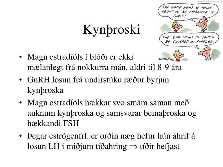 Kynþroski