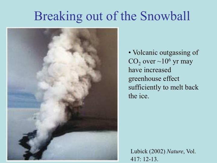 Breaking out of the Snowball