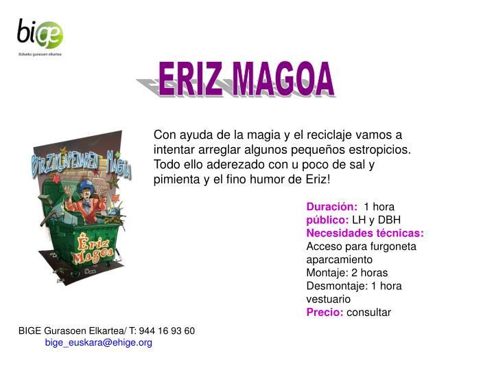 ERIZ MAGOA