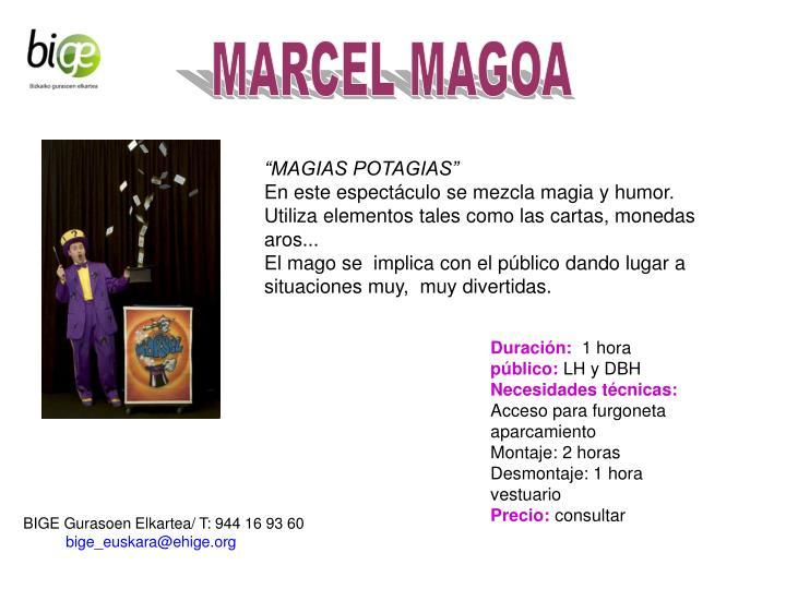 MARCEL MAGOA