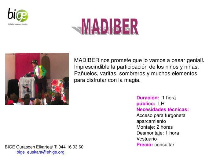 MADIBER