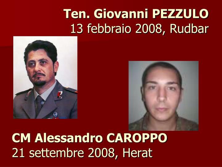 CM Alessandro CAROPPO