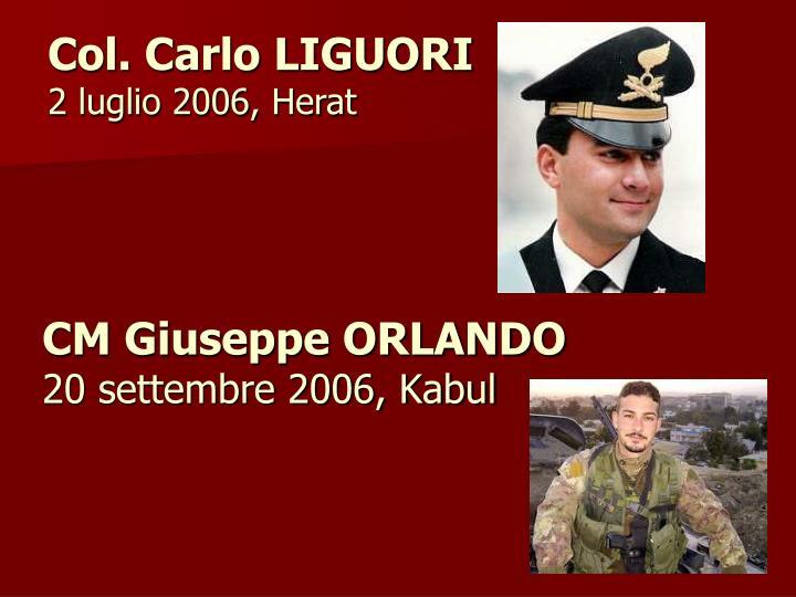CM Giuseppe ORLANDO