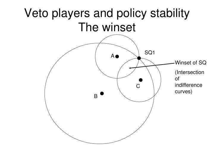 Veto players and policy stability